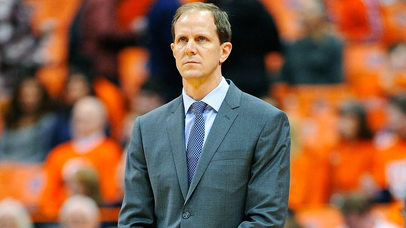 Syracuse announces Mike Hopkins will be Jim Boeheim's successor