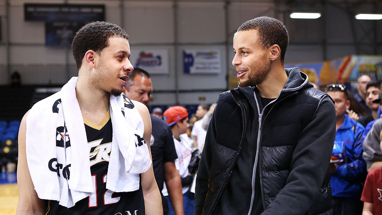 stephen curry looking forward to playing against brother seth
