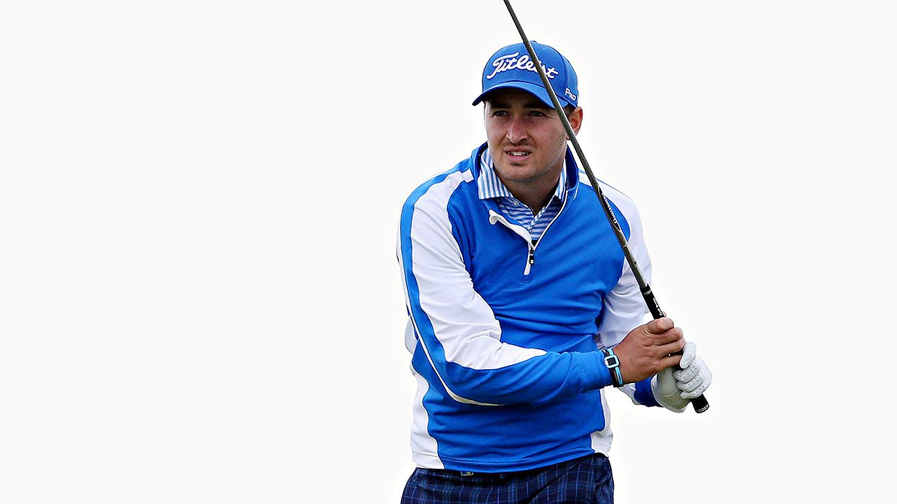 Daniel Brooks holds off chasers to stay in lead at Scottish Open
