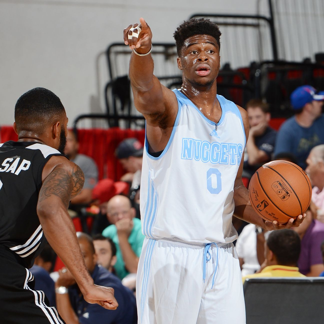 Denver Nuggets Sign First-round Pick Emmanuel Mudiay To