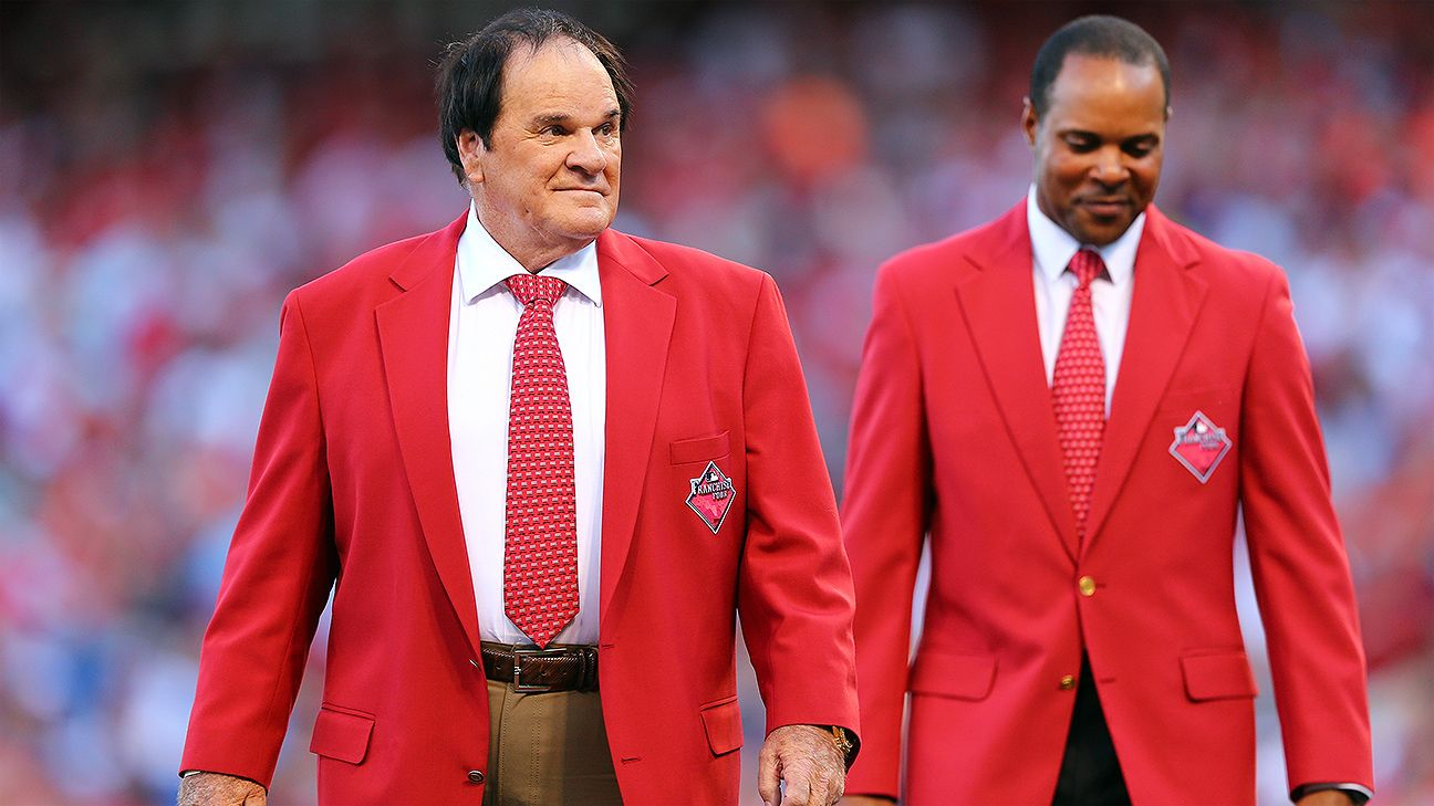 Pete Rose, other Reds greats honored before All-Star Game