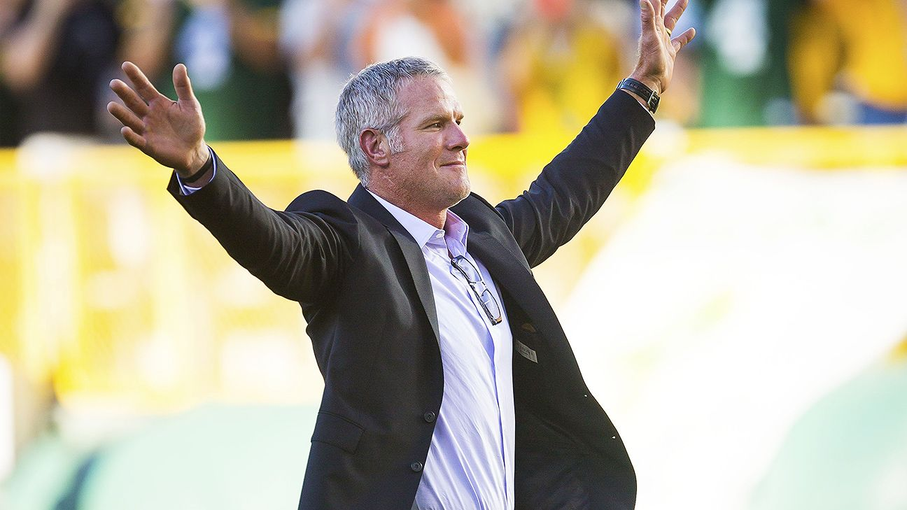 Brett Favre calls reception from Packers fans a highlight of his career