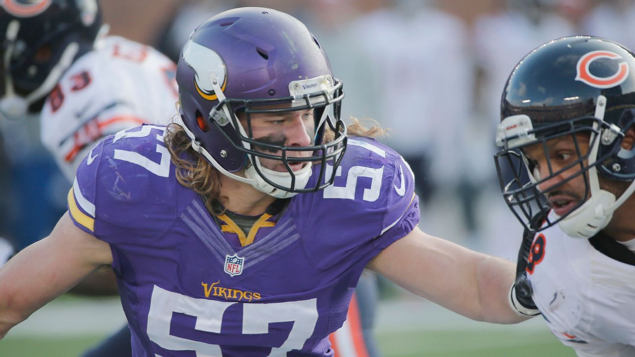 Audie Cole Holding Strong In Minnesota Vikings MLB Battle - Audie cole