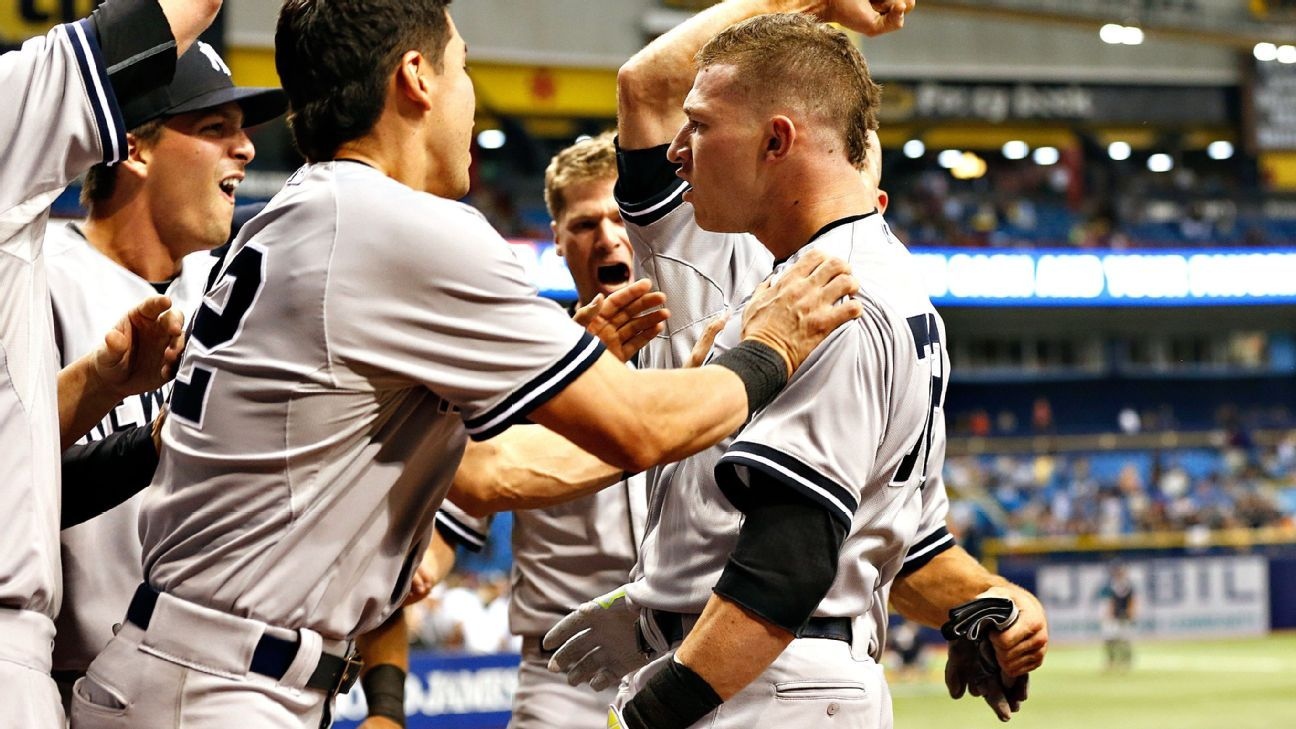 On brink of disaster, Heathcott delivers Yankees' 'biggest win of the year'