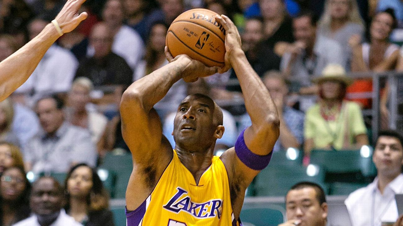 Kobe Bryant: 'Don't need to defend' No. 93 placement in ESPN's #NBArank