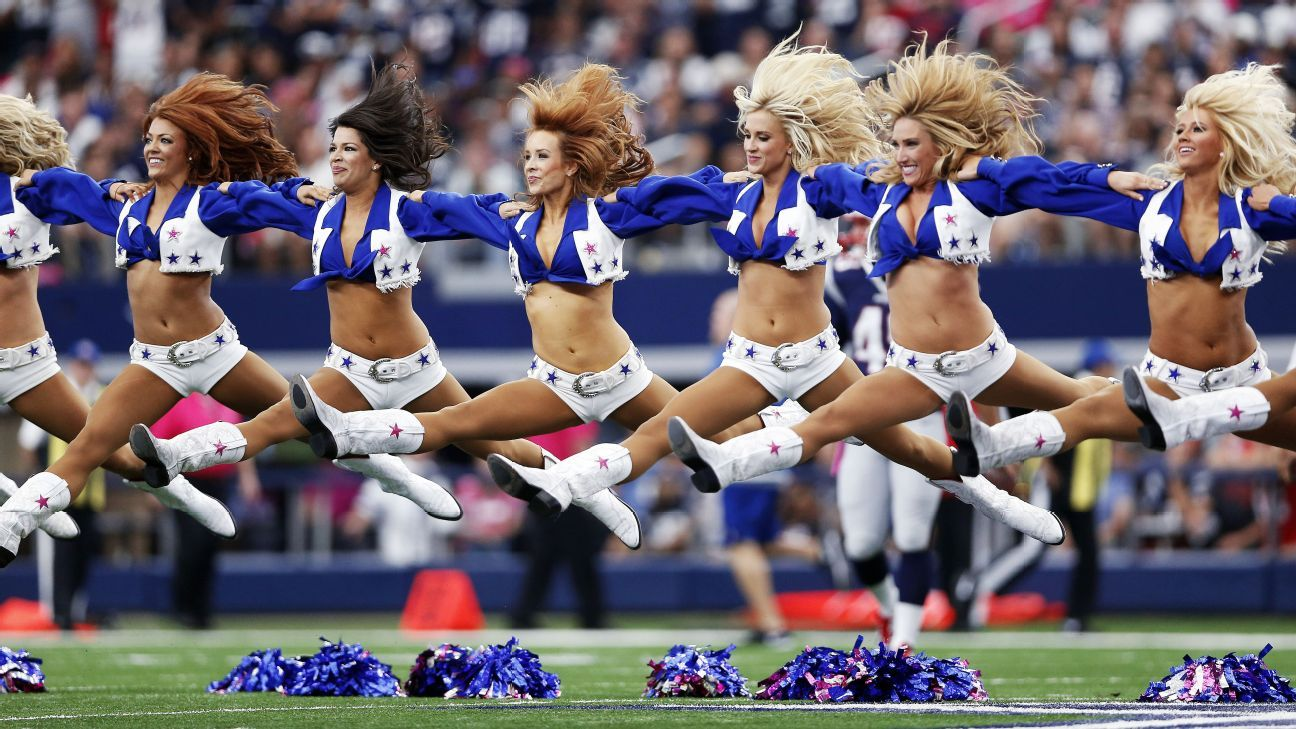 Erica Wilkins, a Dallas Cowboys cheerleader from 2014 to '17, has filed a federal lawsuit against the team, alleging she wasn't paid for all her work and made less money than