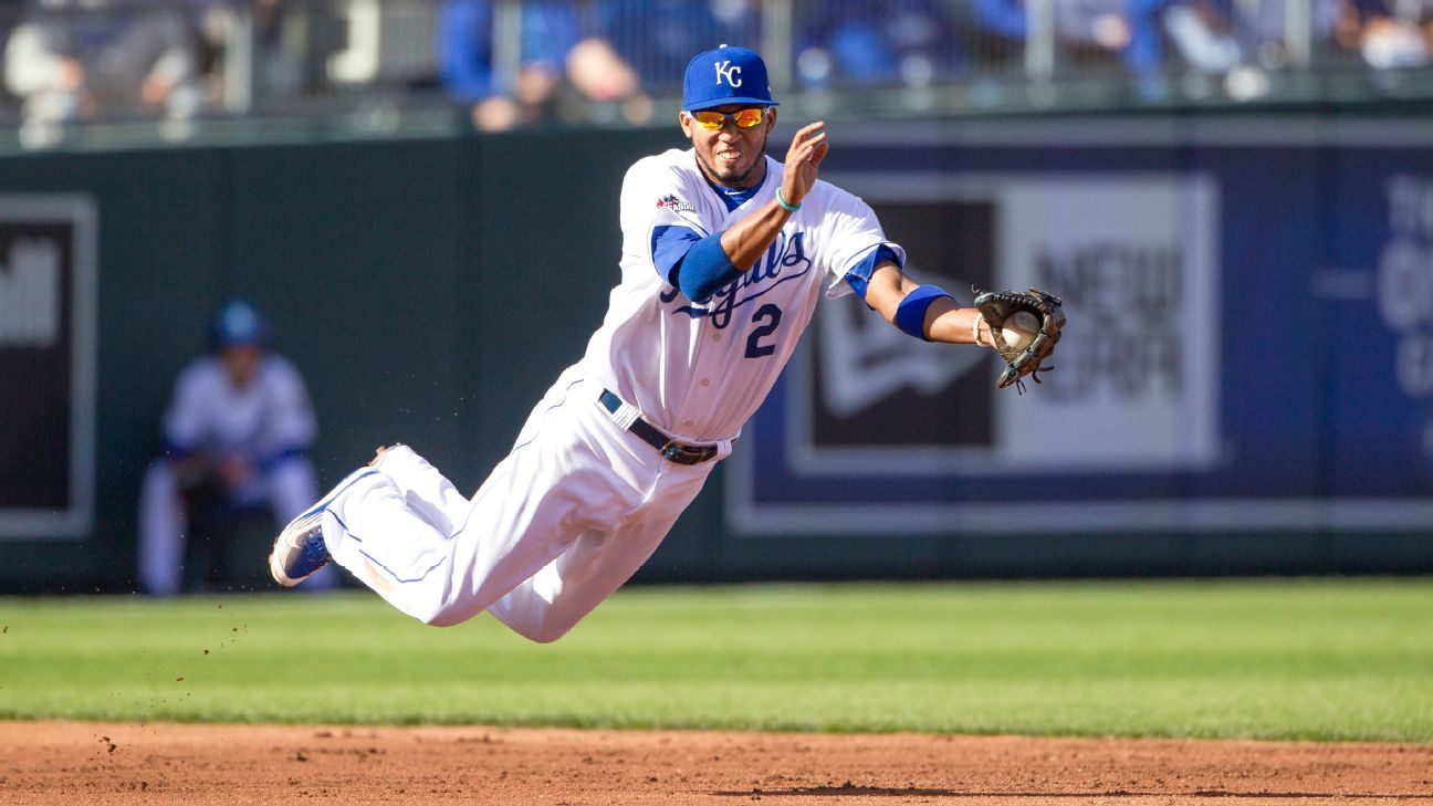 Royals end Alcides Escobar's consecutive games streak at 421