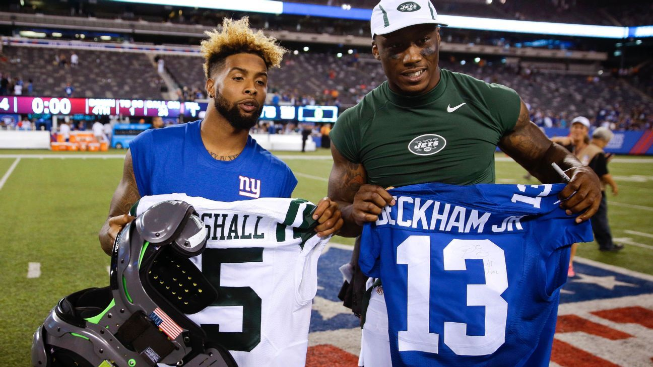 Giants receiver Brandon Marshall gets high marks for address to NFL owners