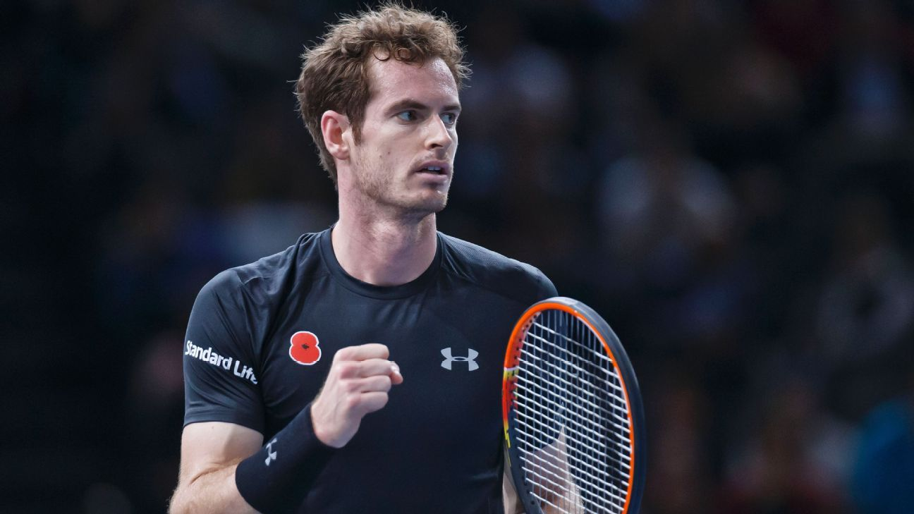 Andy Murray plays down concerns over back after reaching Paris Masters semifinals with Gasquet win