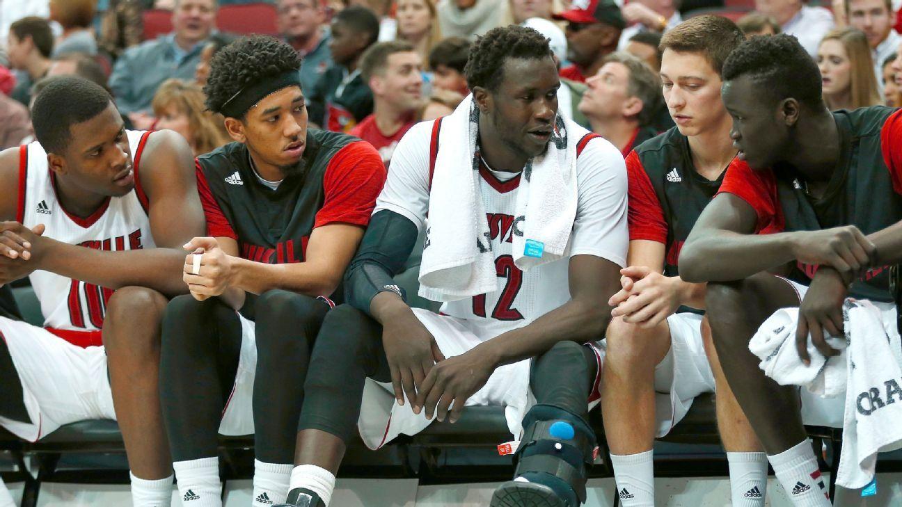 Mangok Mathiang won't return for Louisville Cardinals