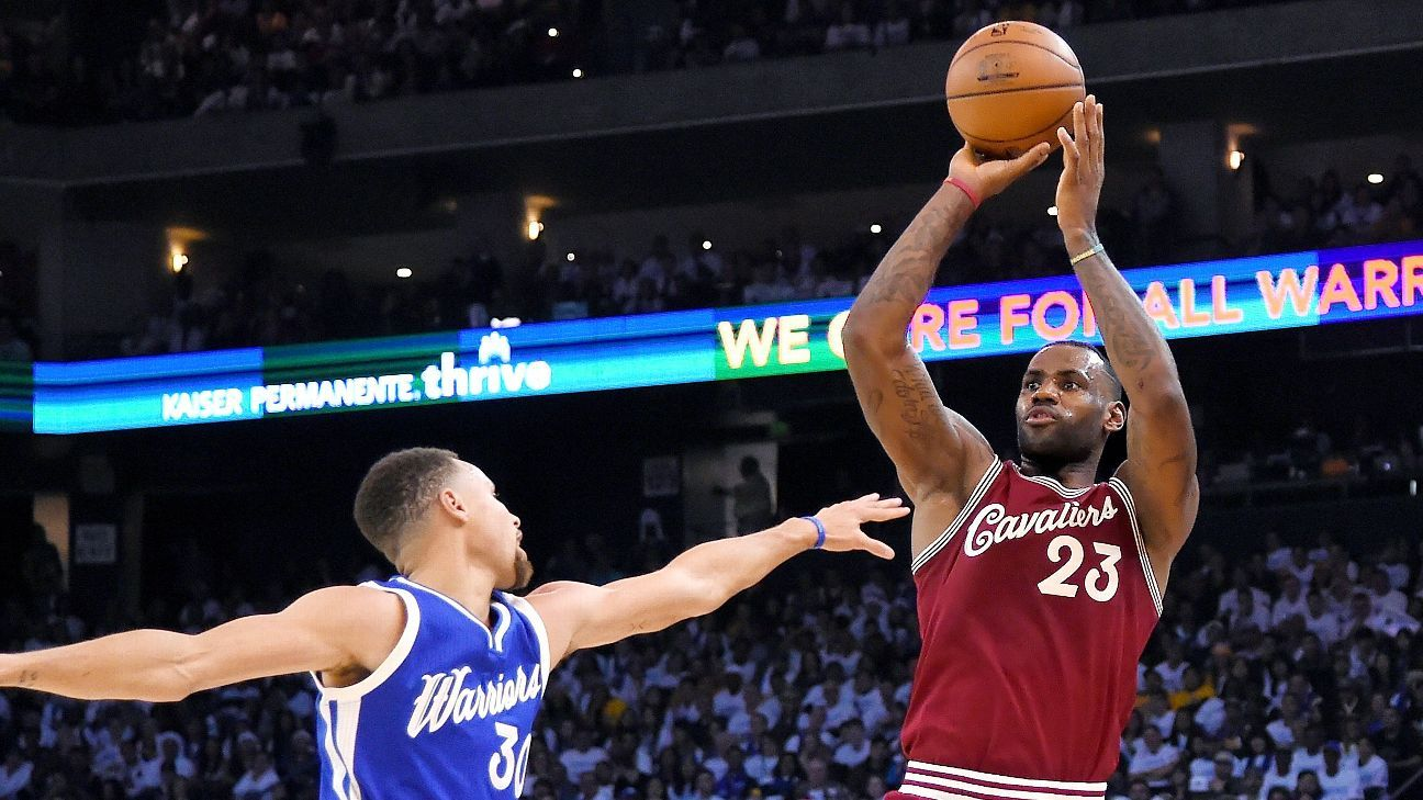 Cleveland Cavaliers-Golden State Warriors draws nearly 11 ...