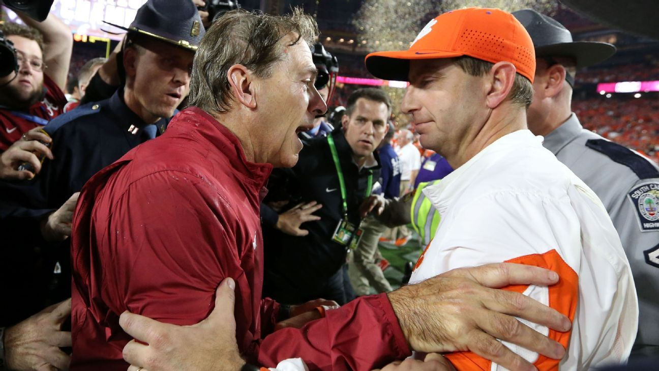 Clemson Tigers urgently want to dethrone Alabama Crimson Tide