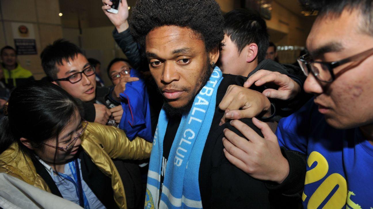 Milan striker Luiz Adriano on Jiangsu Suning move collapse