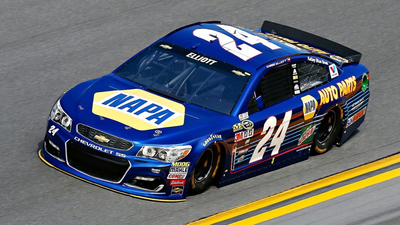 Chase Elliott wins Daytona 500 Pole