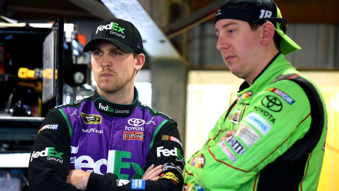 Hamlin leaves best pit stall to teammate Busch