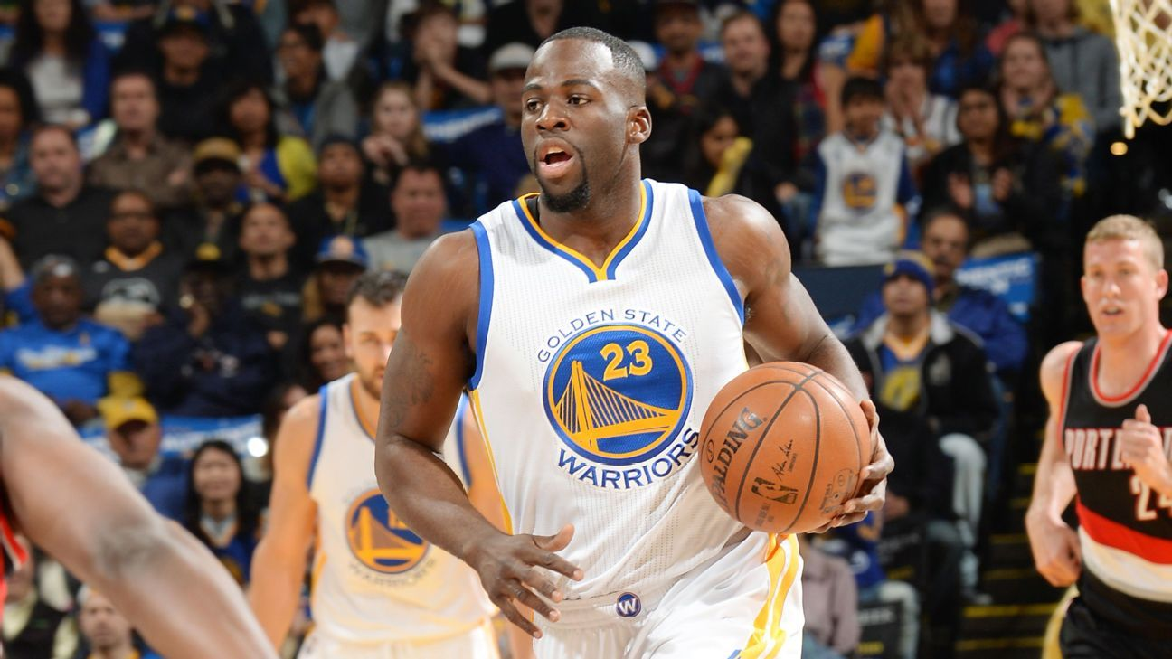 Warriors' Green frustrated by Flagrant 1 foul call