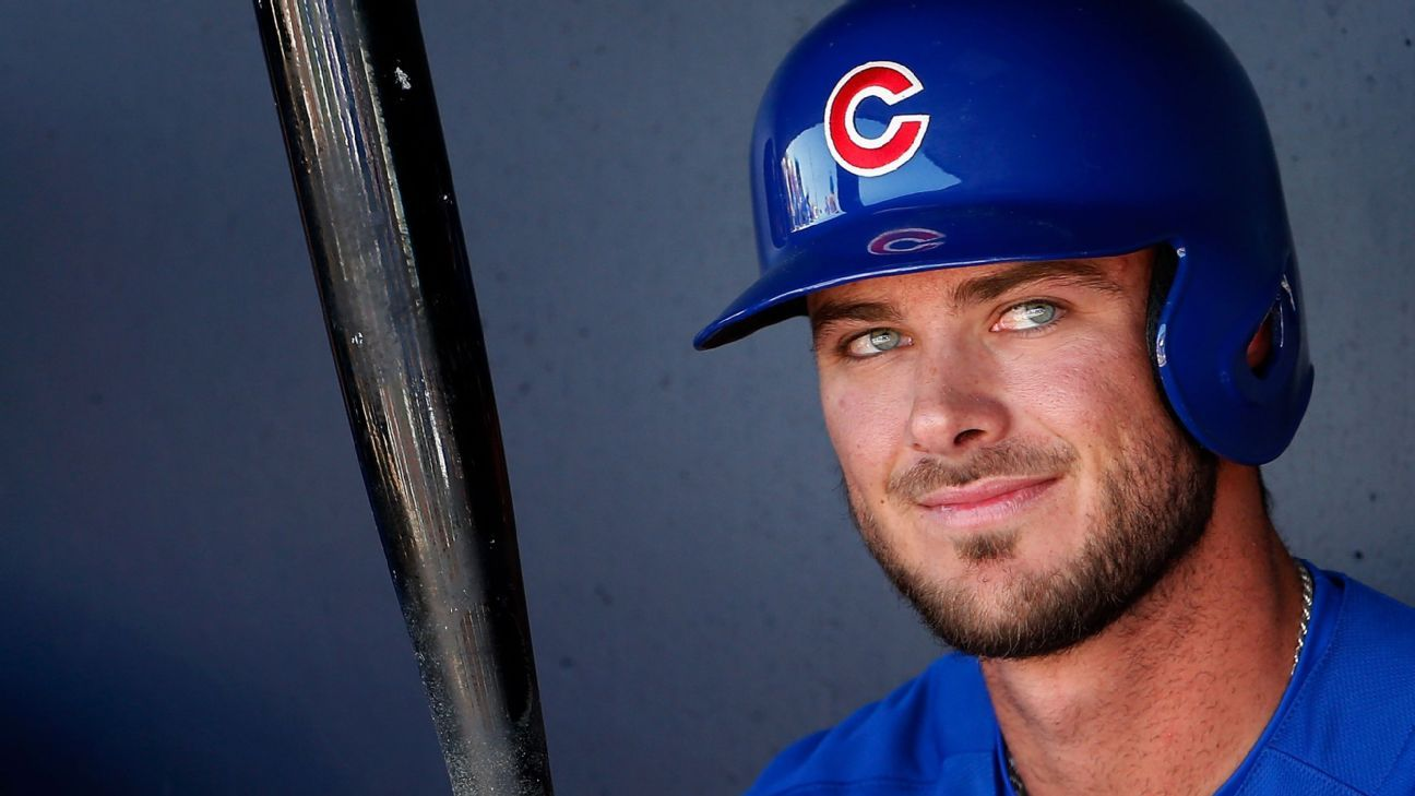 Kris Bryant by the numbers: From 'three-true-outcomes' player to MVP favorite - MLB