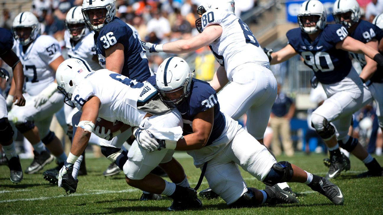 Penn State Nittany Lions' Kevin Givens making impact at ...