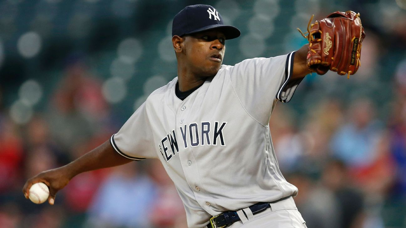 Luis Severino of New York Yankees headed to DL with right triceps strain