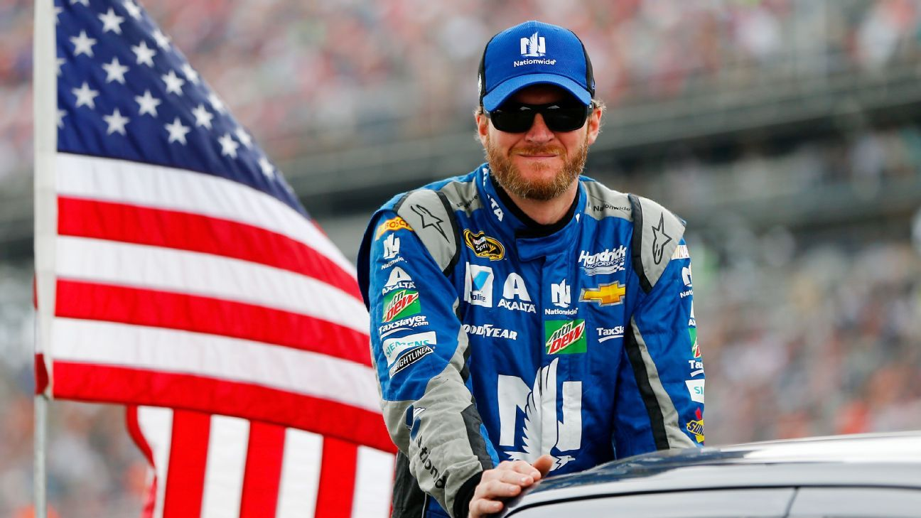 Dale Earnhardt Jr. out for Sunday's race at New Hampshire with concussion-like symptoms