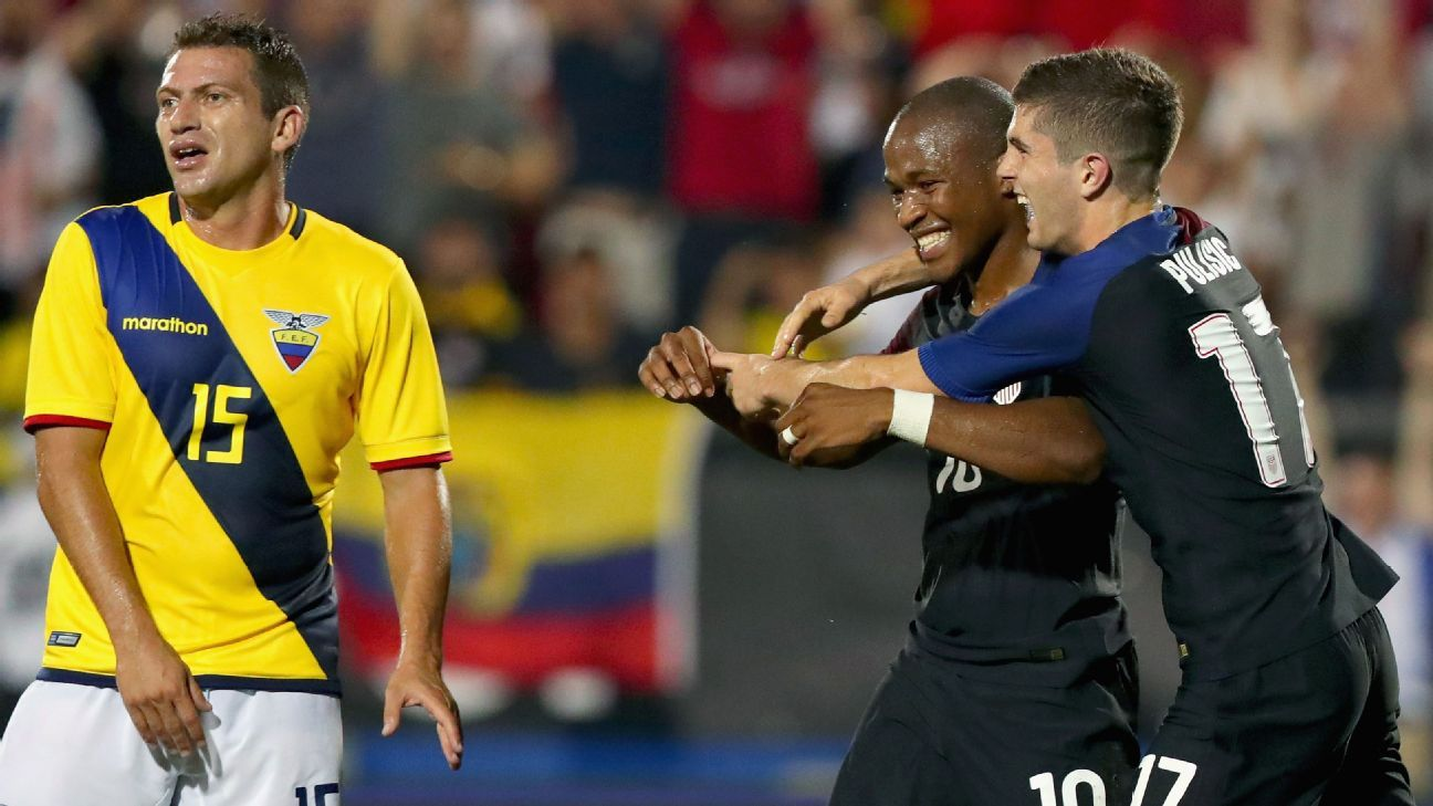 ecuador vs us In the most evenly matched copa america quarter-final, the united states will face ecuador on thursday at seattle's centurylink field the americans are small +160 betting favorites (bet $100 to .