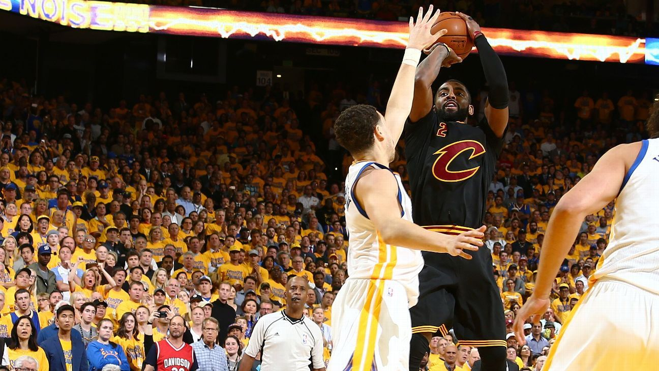 NBA Finals 2016 - Kyrie Irving comes to Cleveland ...