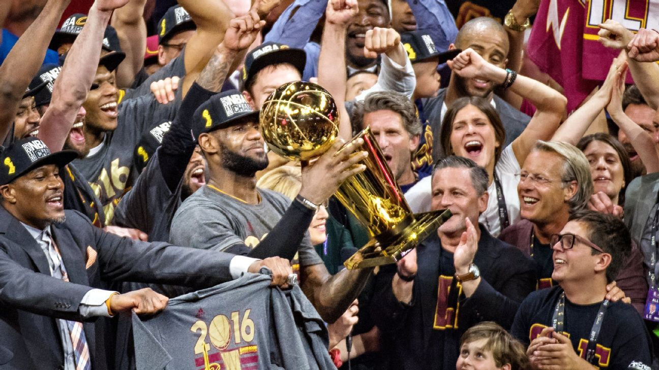 Cleveland Cavaliers Inspired By Second Secret NBA Finals Trophy