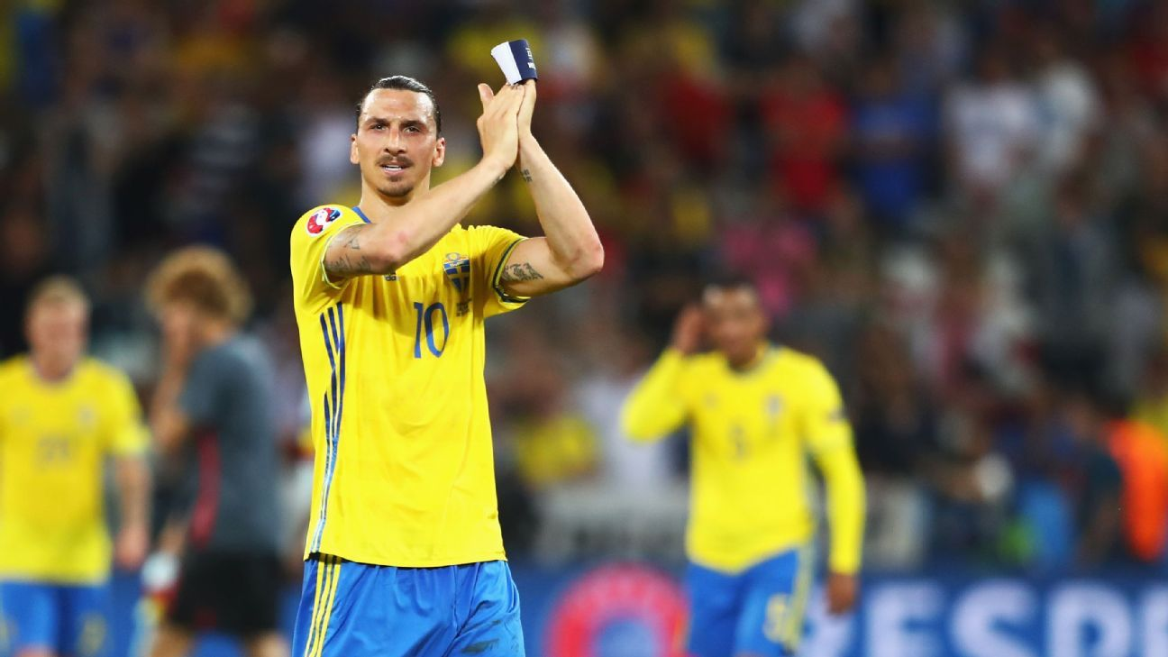 Zlatan Ibrahimovic's World Cup return ruled out by Sweden