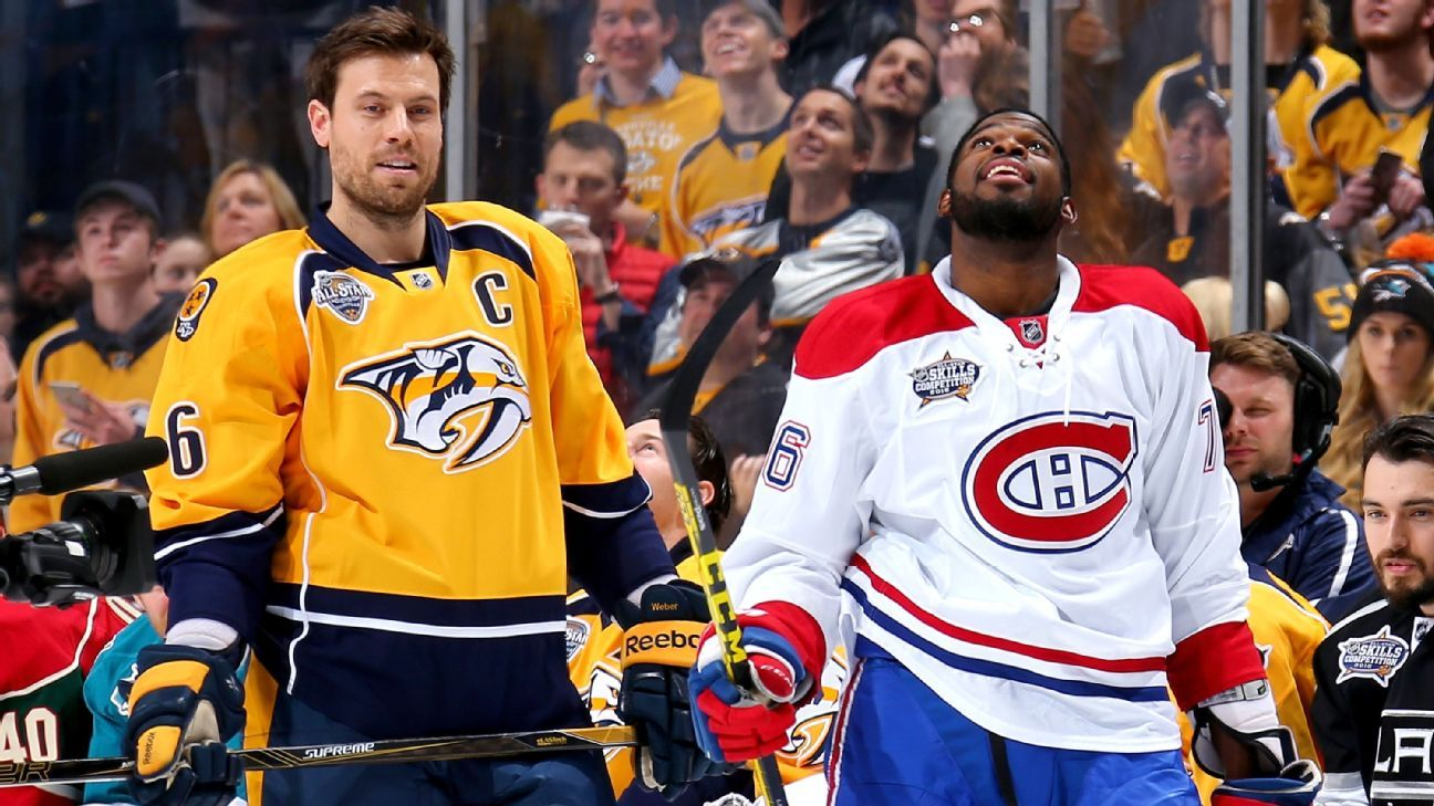 Canadiens trade Subban to Preds for Weber