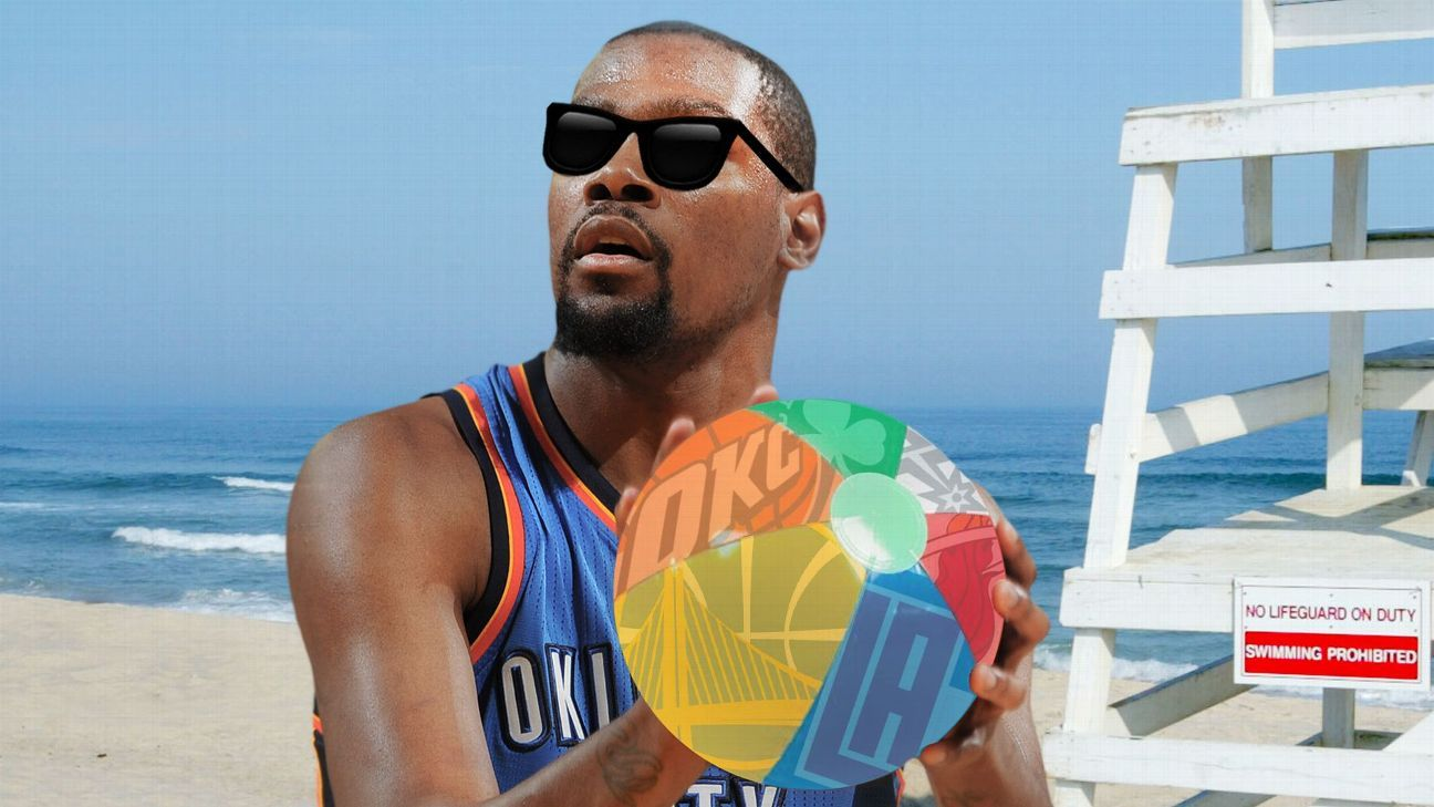 Quiz: Find Kevin Durant a free agent home with emojis