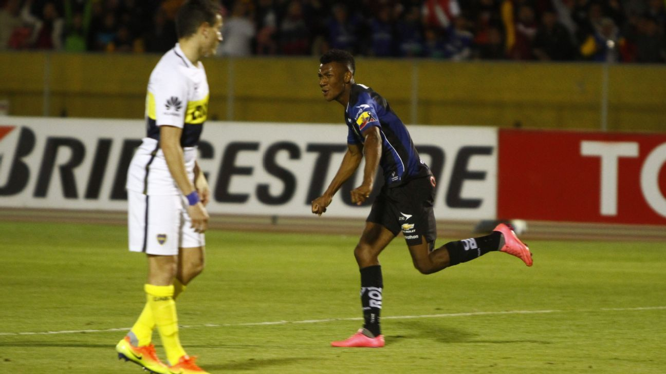 Indepen Nte Del Valle Take Another Step Vs Boca Juniors In Fairy Tale Copa