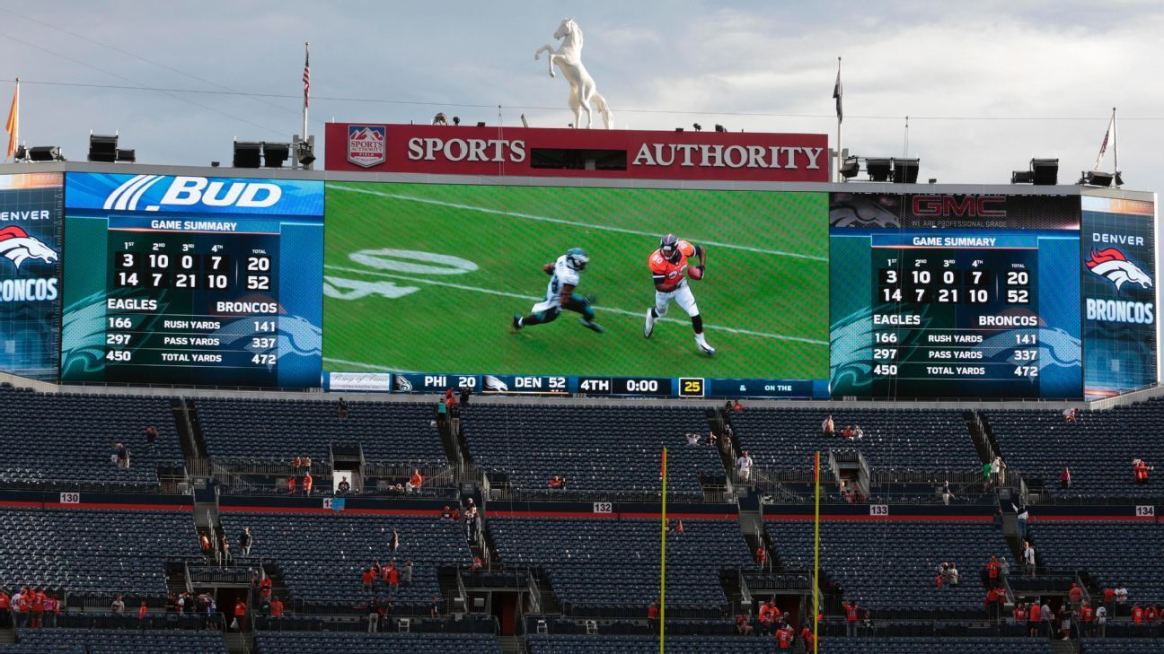 Naming rights for Denver Broncos' stadium up for bids