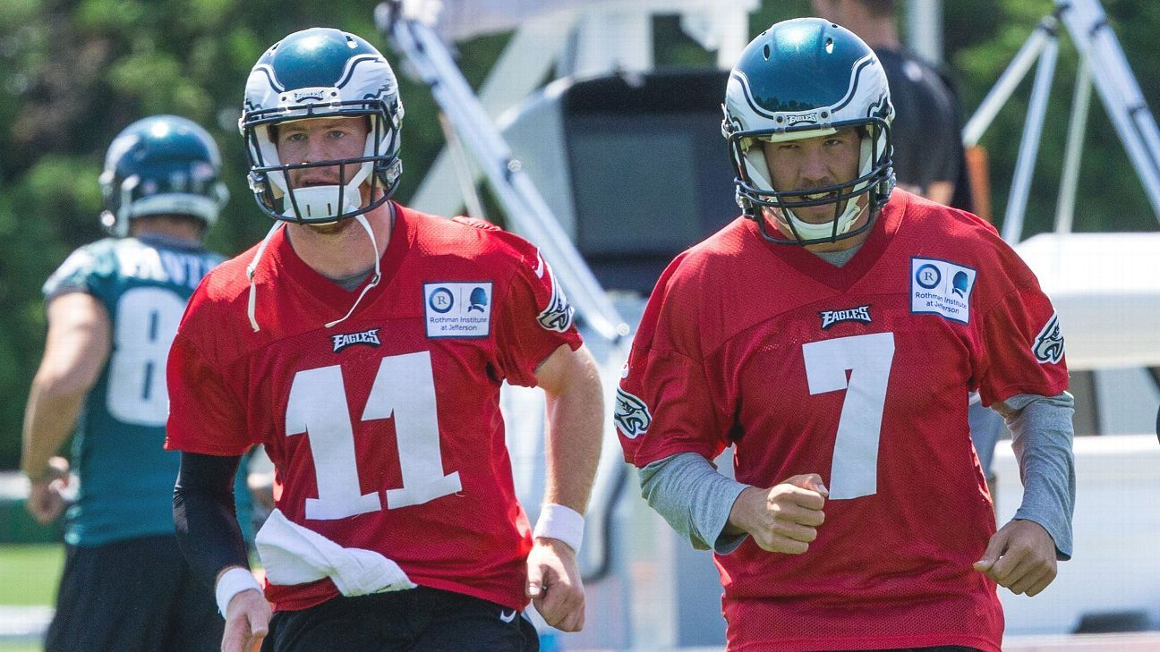 Sam Bradford trade, Carson Wentz news leave Eagles players with mixed emotions