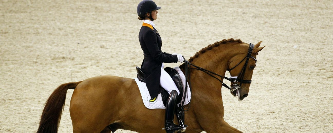 Dutch dressage rider quits Rio to save sick horse