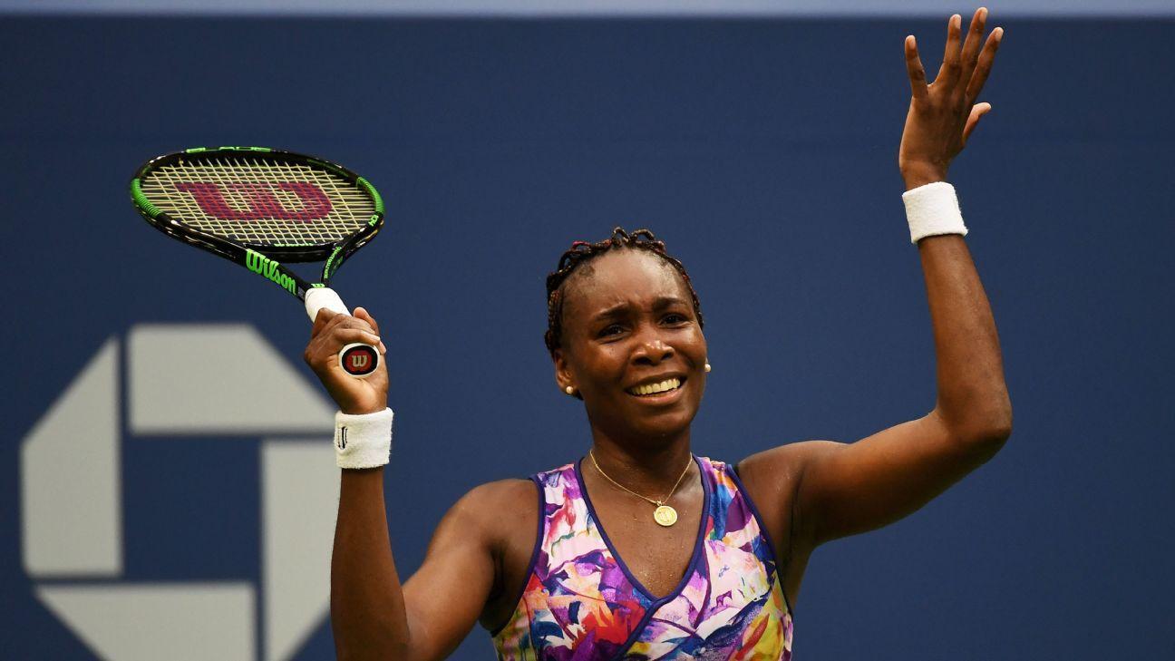 Tennis - Venus shows stamina in marathon US Open win