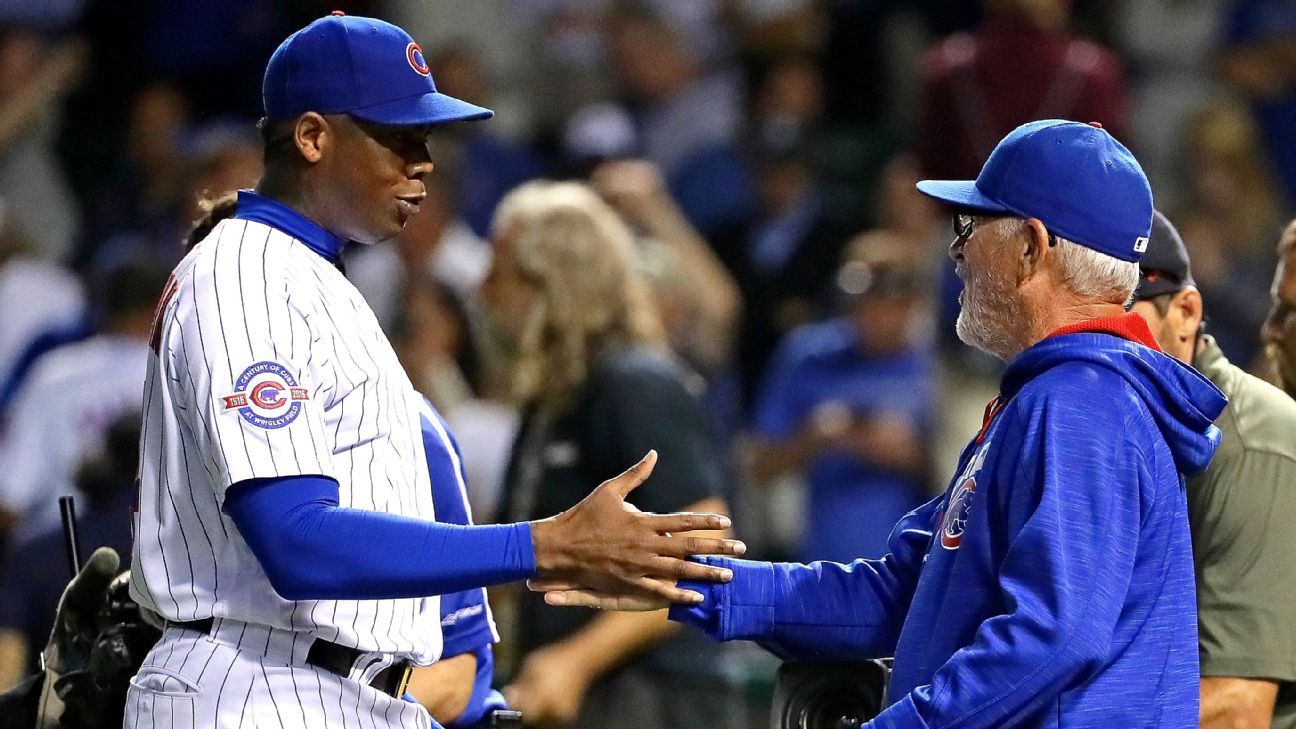 Joe Maddon marvels at 15-game lead Chicago Cubs take into September - Chicago Cubs Blog- ESPN