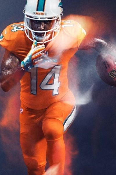 Nike unveils Color Rush uniforms, addresses conflicts for ... Rams New Uniforms