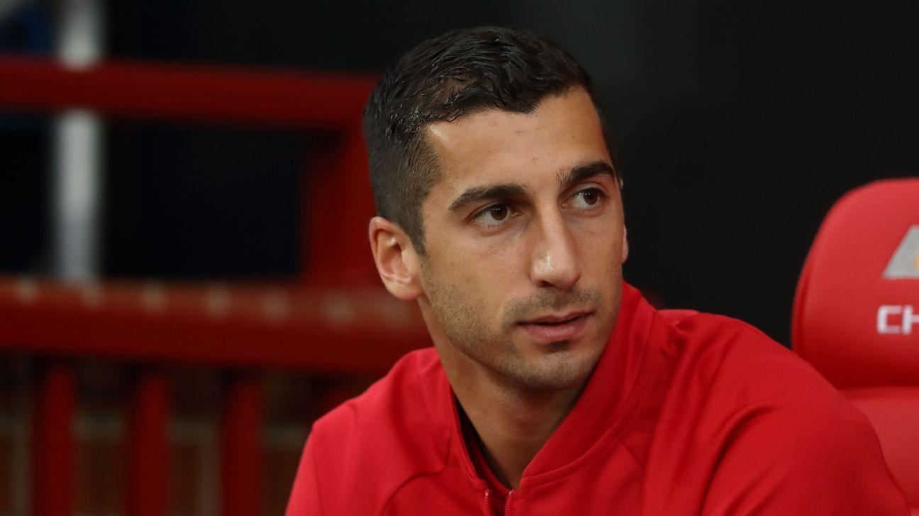 Manchester United want Henrikh Mkhitaryan to miss Armenia World