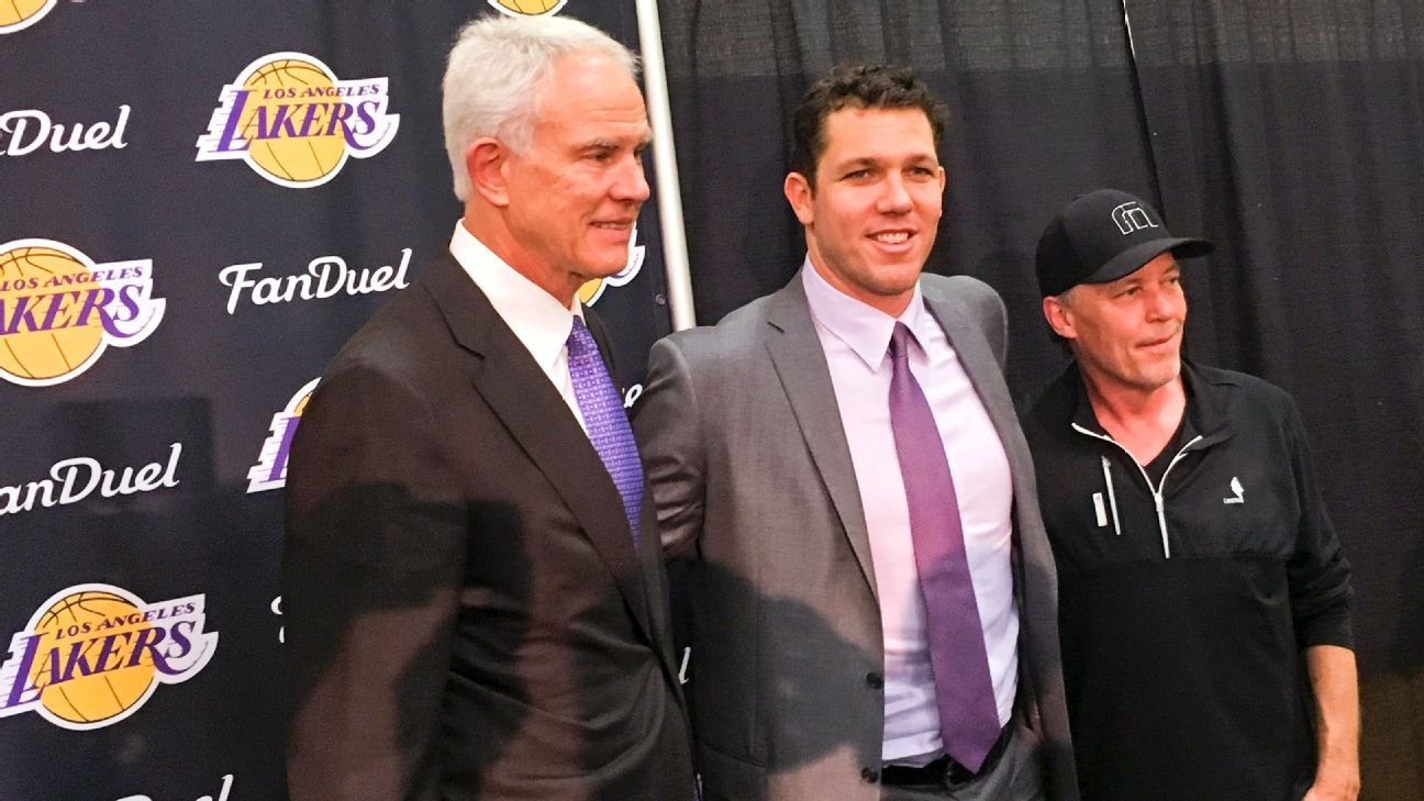 Potential front office shakeup for Los Angeles Lakers s nearer