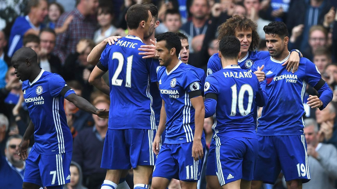 Image result for How Chelsea's new 3-4-3 formation destroyed Leicester City