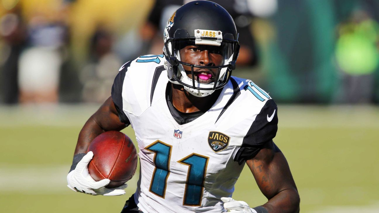 Marqise Lee of Jacksonville Jaguars says he was flagged ...