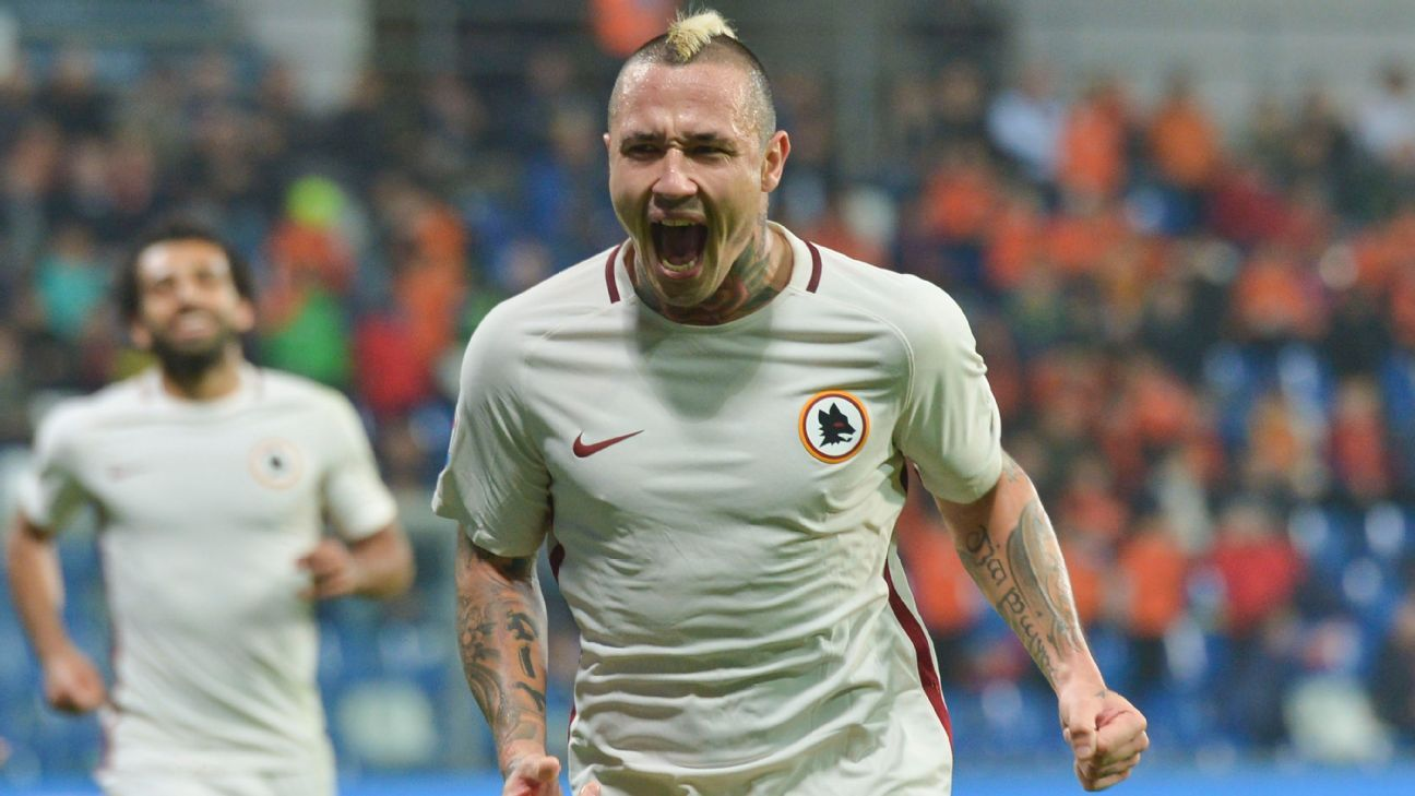 Radja Nainggolan expresses hatred of Juve ahead of Crotone match