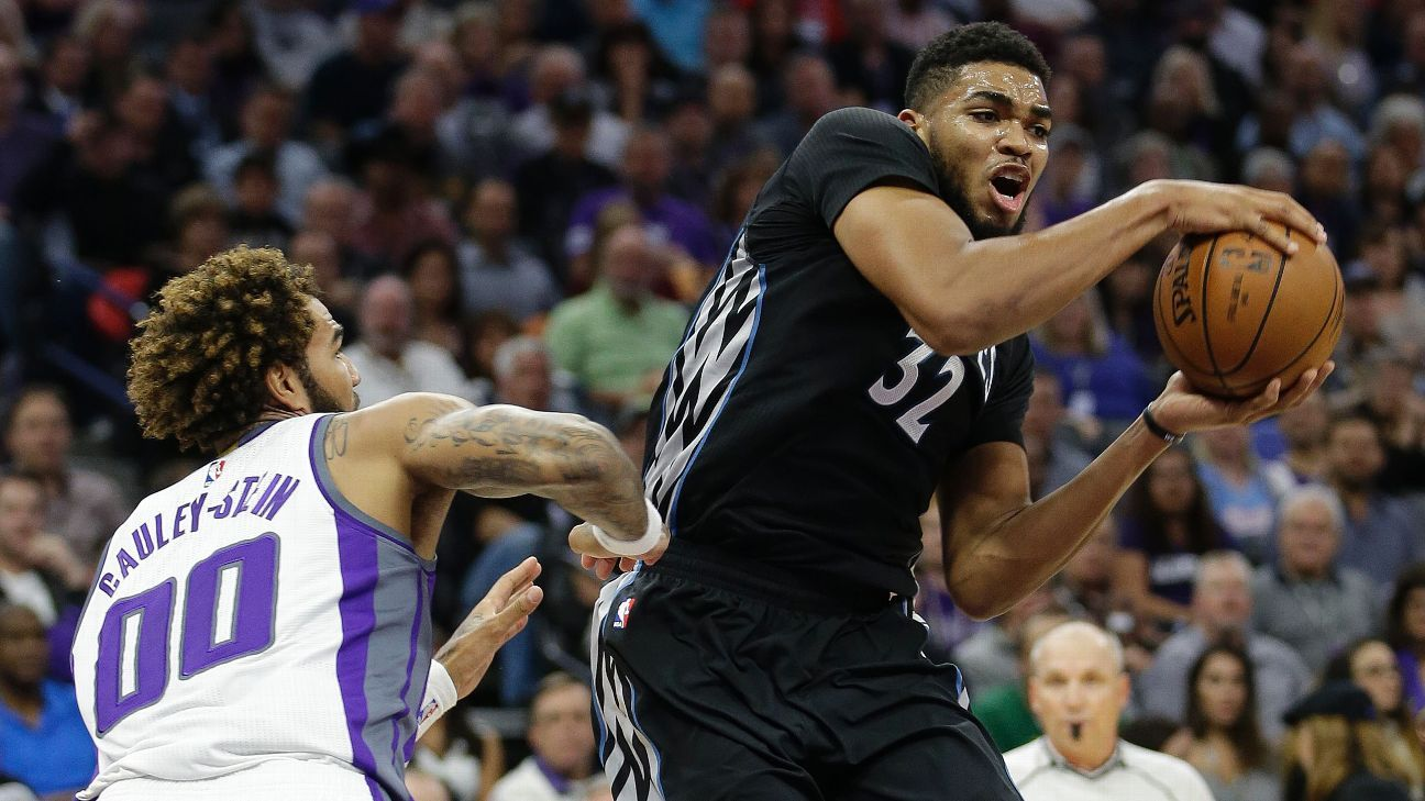 Time to worry about Karl-Anthony Towns, Klay Thompson in ...