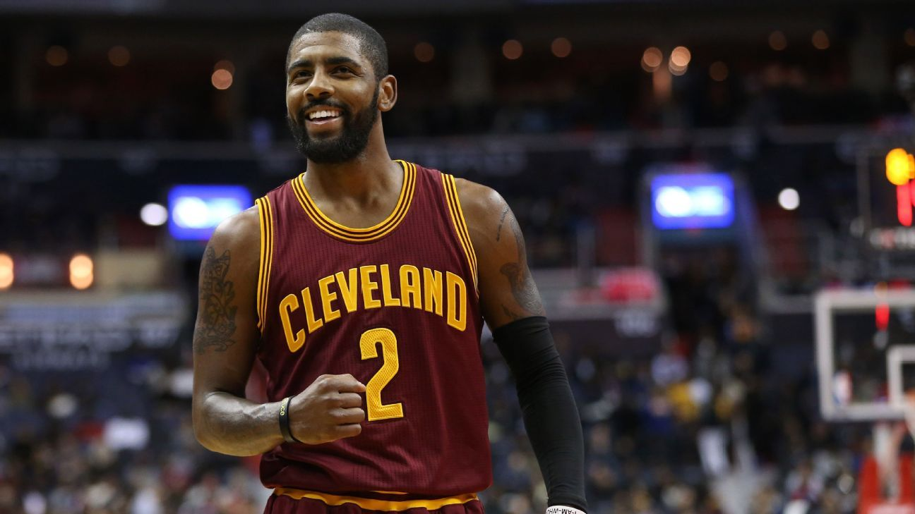 Kyrie Irving of Cleveland Cavaliers believes Earth is flat