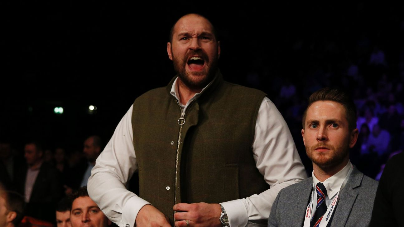 Boxing authorities cast doubt on Tyson Fury's return