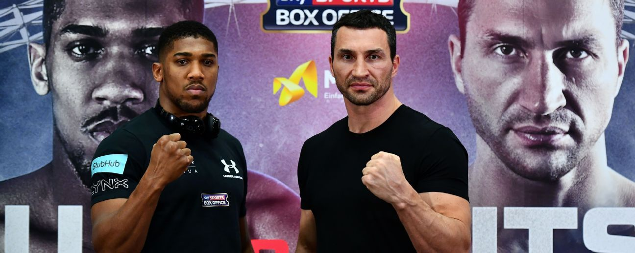 Anthony Joshua vs Wlad Klitschko~It's ON!