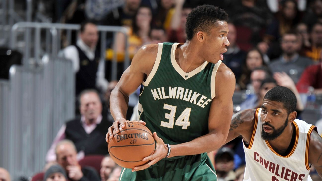 Milwaukee Bucks forward Giannis Antetokounmpo (illness) out Sunday against Washington Wizards