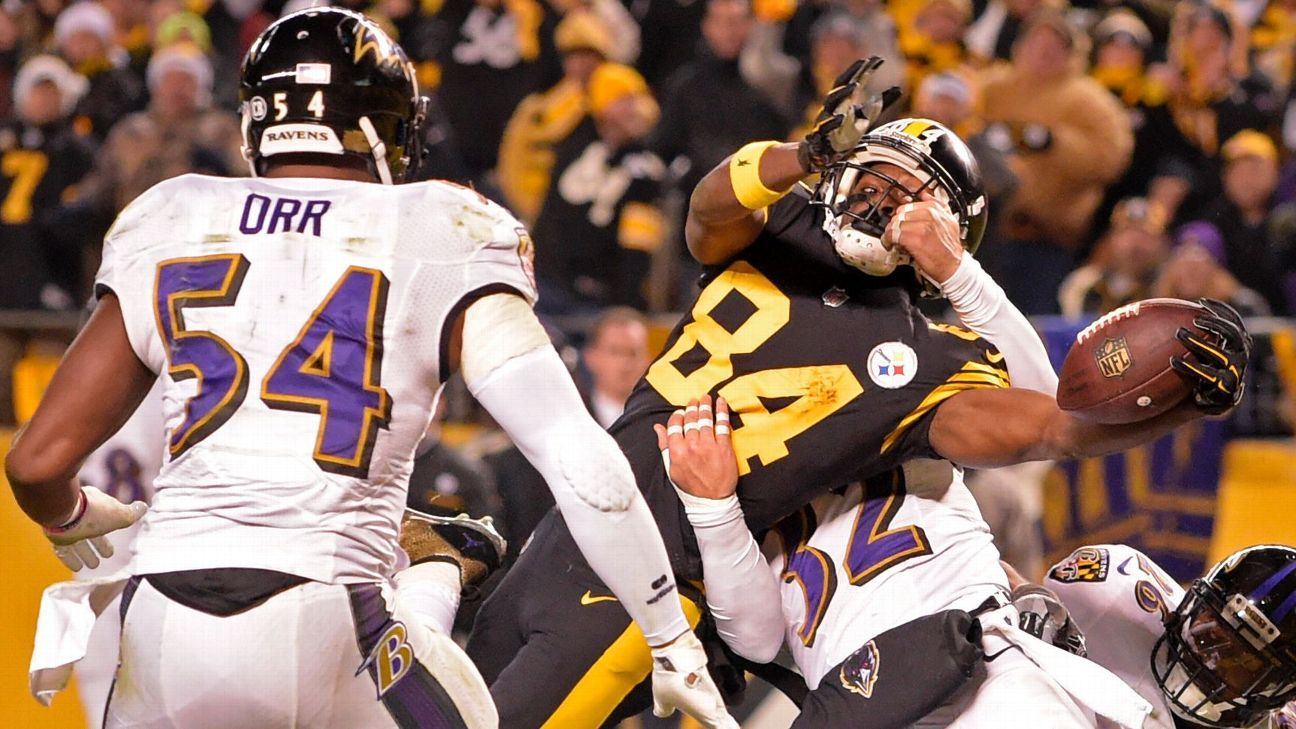 How Pittsburgh Steelers Wr Antonio Brown Produced Td For