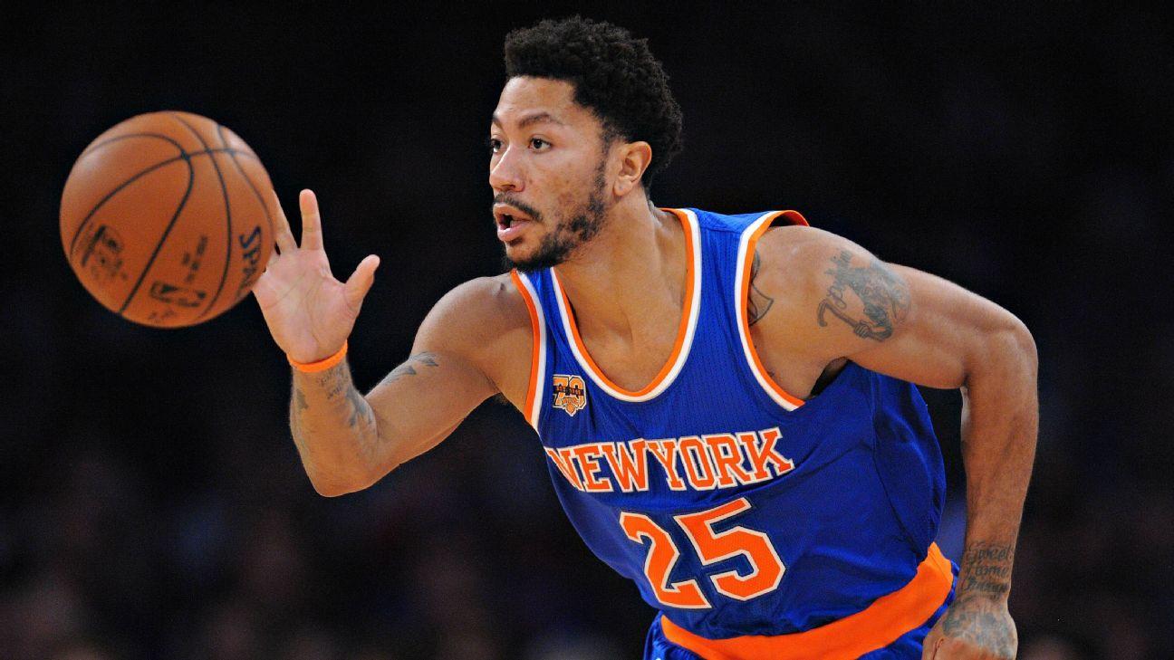 New York Knicks' Derrick Rose returns to team after going AWOL