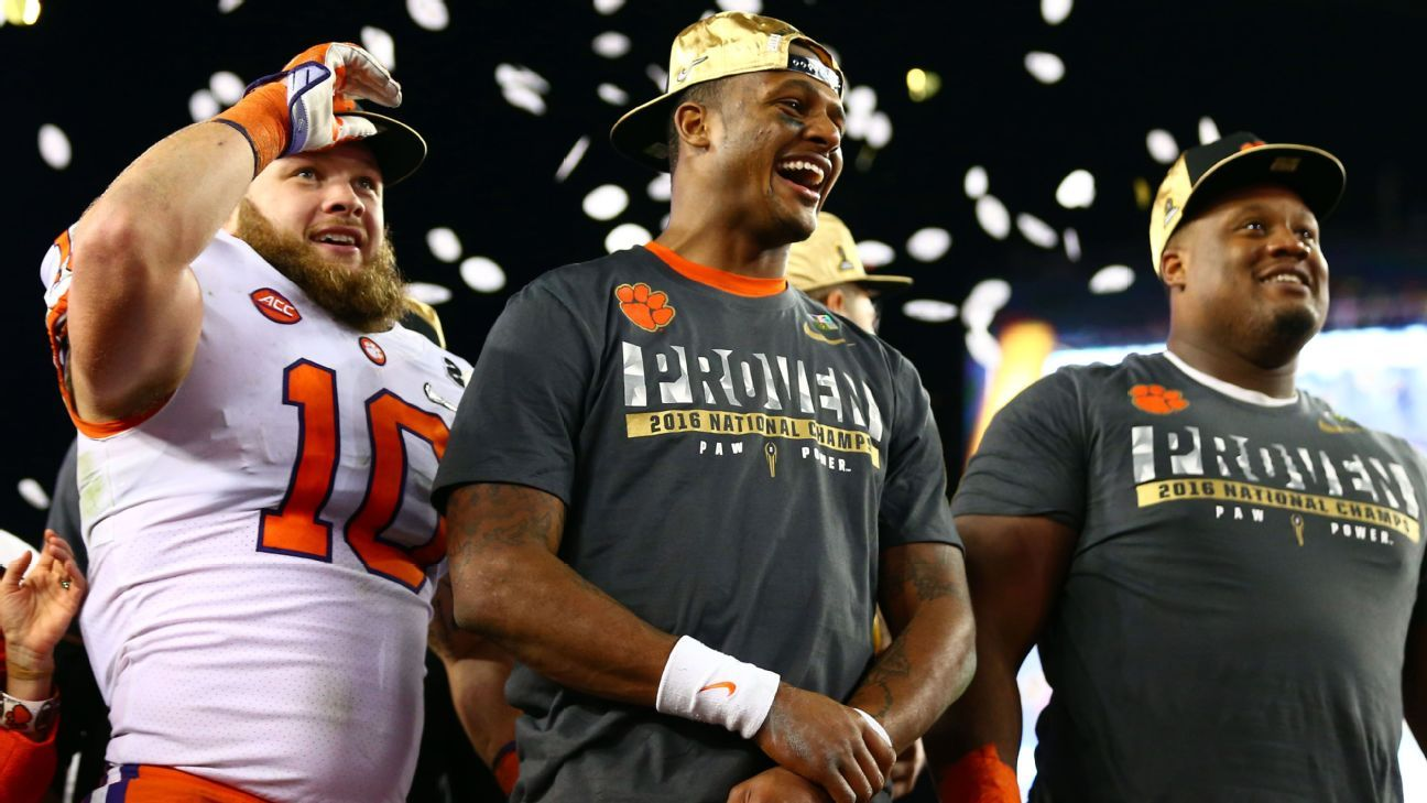 Clemson Tigers use memory of College Football Playoff National Championship loss to Alabama Crimson Tide last year to fuel storybook ending